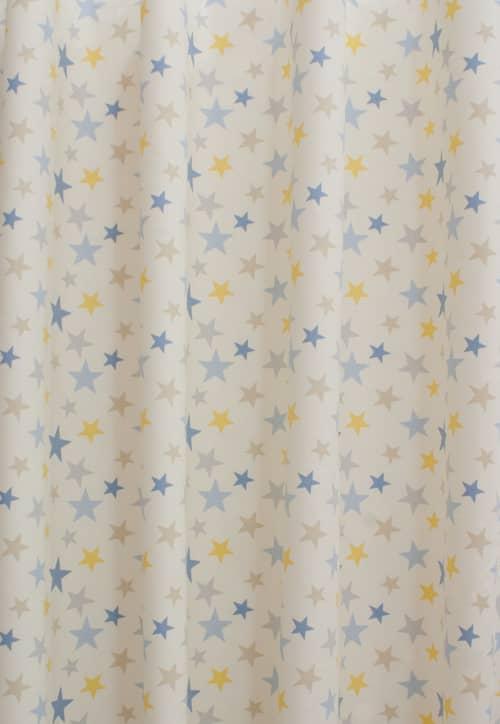 Funky Star lemon - Curtain Accessories