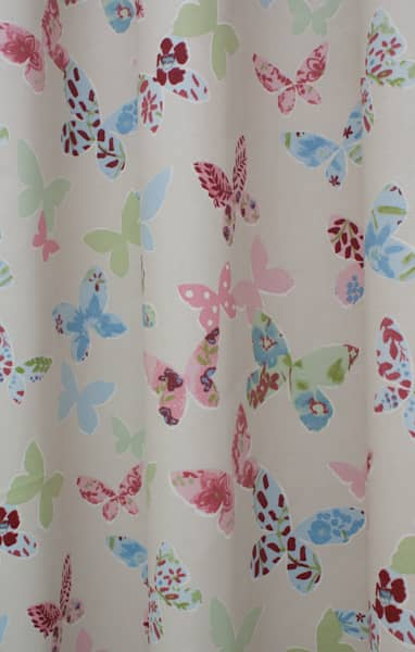 Butterfly Vintage Roman Blinds