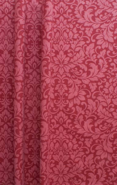 Carlotti Pomegranate Curtain Fabric
