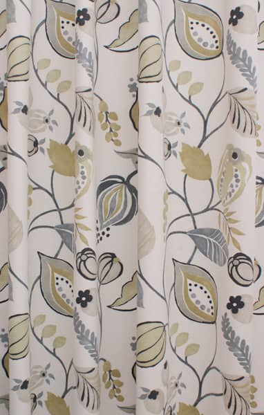 Zest Linen Curtain Fabric