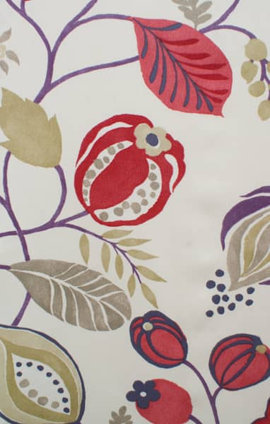 Zest Berry Curtain Fabric