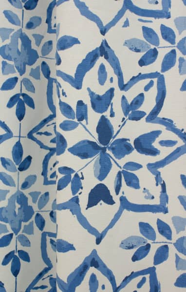 Avignon Porcelain Curtain Fabric