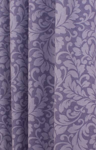 Carlotti Amethyst Curtain Fabric