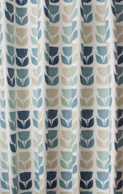 Poppypod Colonial Curtain Fabric