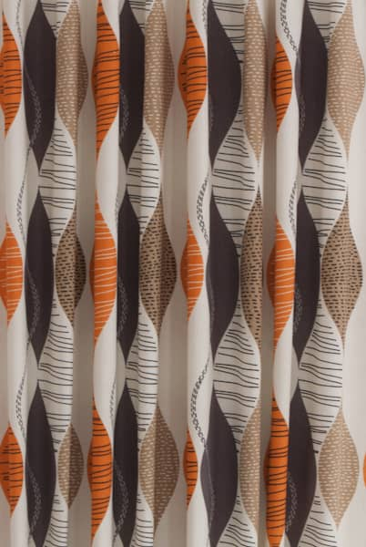 Alderley Amber Curtain Fabric