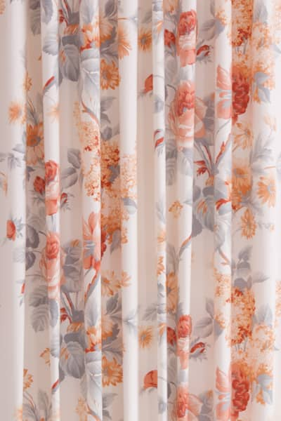 Harlow Carr Coral Roman Blinds
