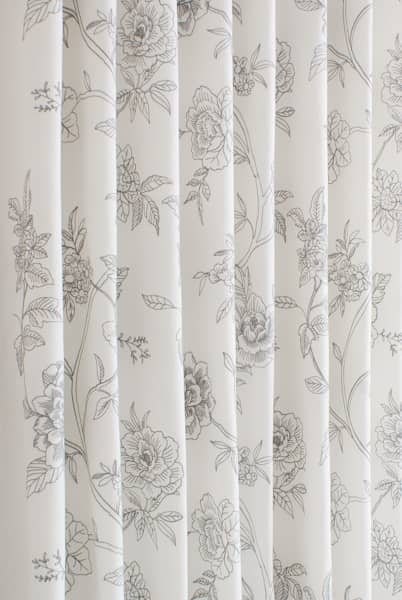 filigree silver grey made to measure curtains. Black Bedroom Furniture Sets. Home Design Ideas