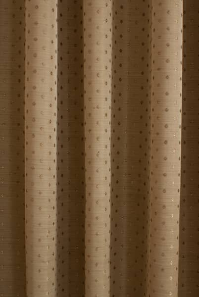 Jewel Antique Gold Curtain Fabric