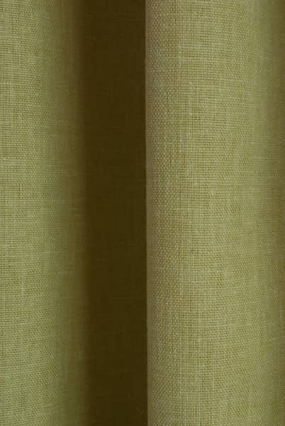 Pure Chartreuse Curtain Fabric