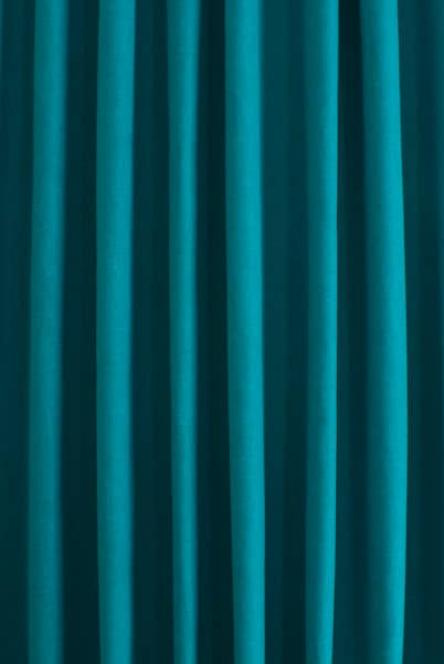 Pure Turquoise Roman Blinds