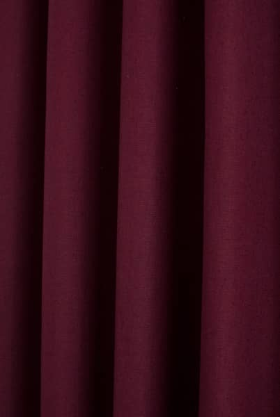Pure Bordeaux Roman Blinds
