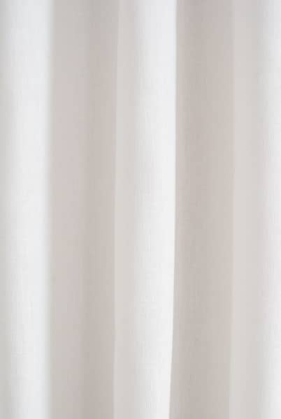 Pure White Made to Measure Curtains