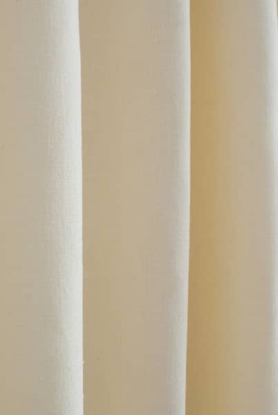 Pure Buttermilk Roman Blinds