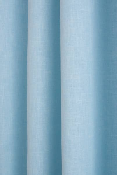 Pure Baby Blue Curtain Fabric