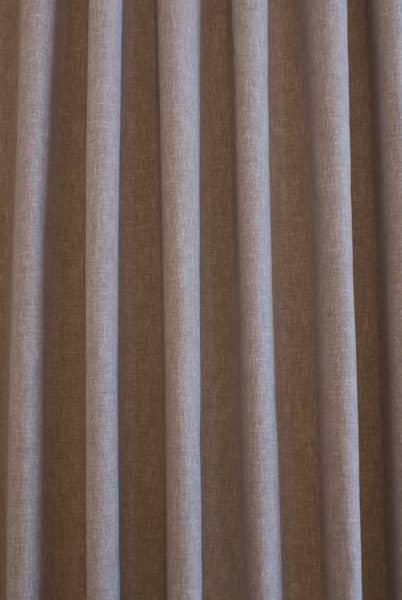 Pure Taupe Curtain Fabric