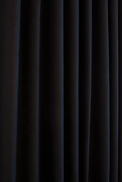 Pure Black Made to Measure Curtains
