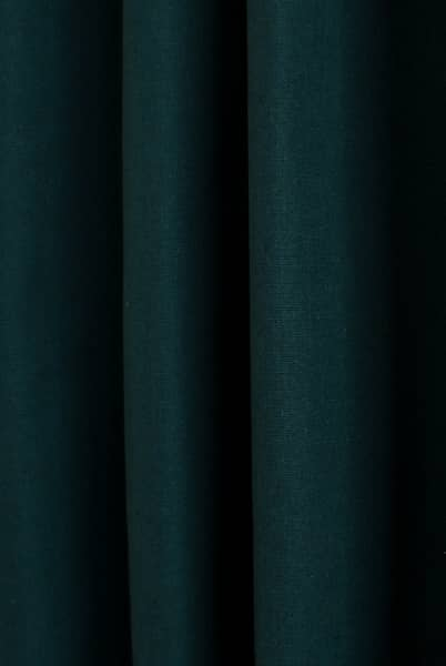 Pure Teal Curtain Fabric