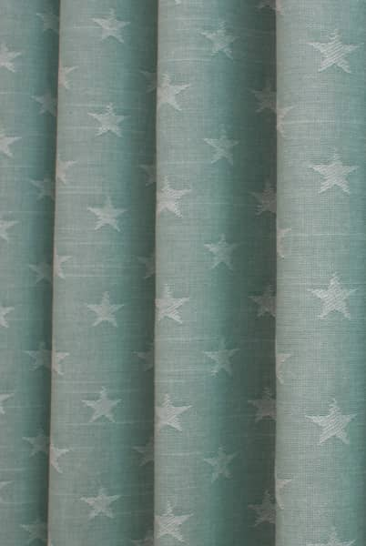 Newport Seafoam Curtain Fabric