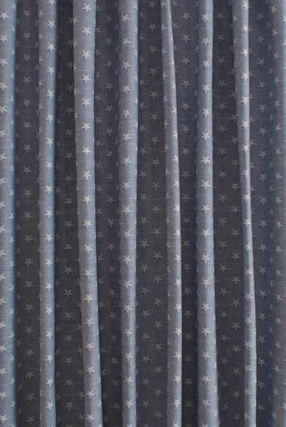 Newport Navy Curtain Fabric