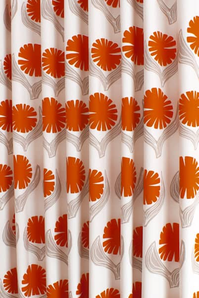 Driva Orange Made To Measure Curtains