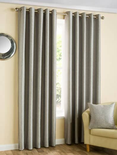 Ziggi Graphite Ready Made Curtains