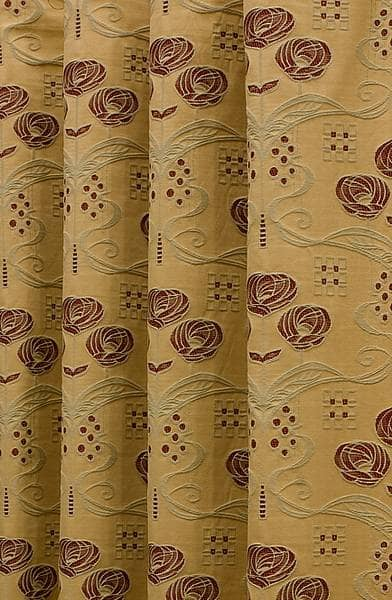 Rennie Gold & Wine Made to Measure Curtains