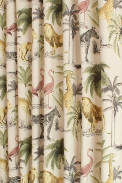 Longleat Acacia Curtain Fabric