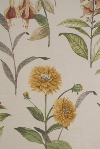 Bloomingdale Acacia Curtain Fabric