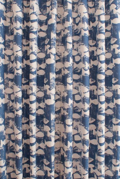 Shoal Indigo Roman Blinds