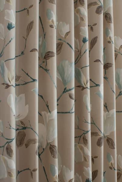 Sayuri Marine Curtain Fabric