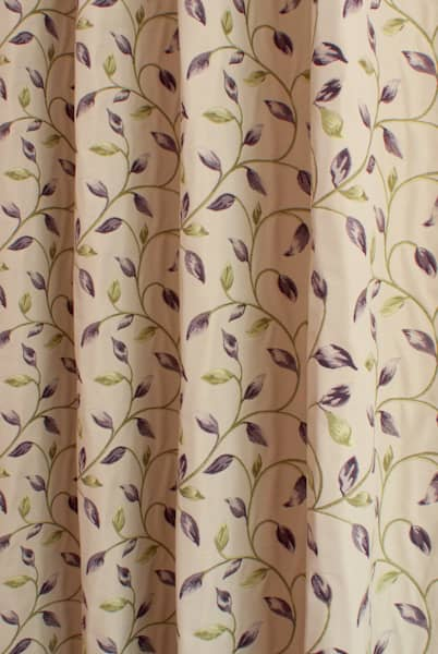 Beaufort Grape Roman Blinds