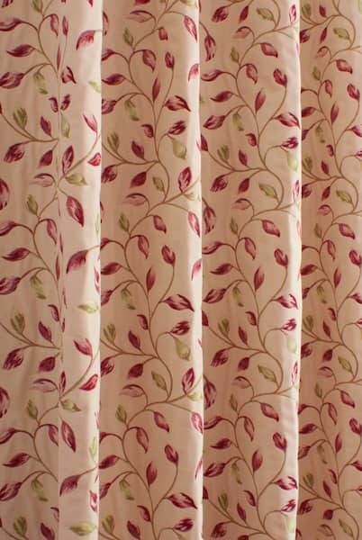 Beaufort Scarlet Made to Measure Curtains