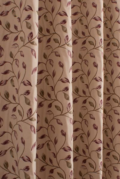 Beaufort Aubergine Made to Measure Curtains