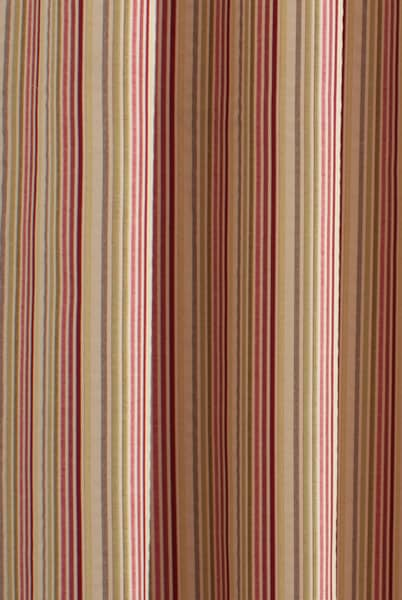 Clarence Scarlet Curtain Fabric