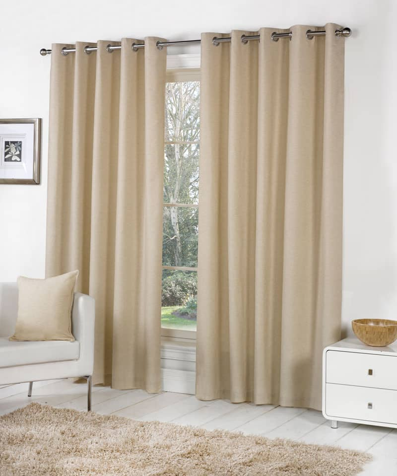 Sorbonne Natural Ready Made Curtains