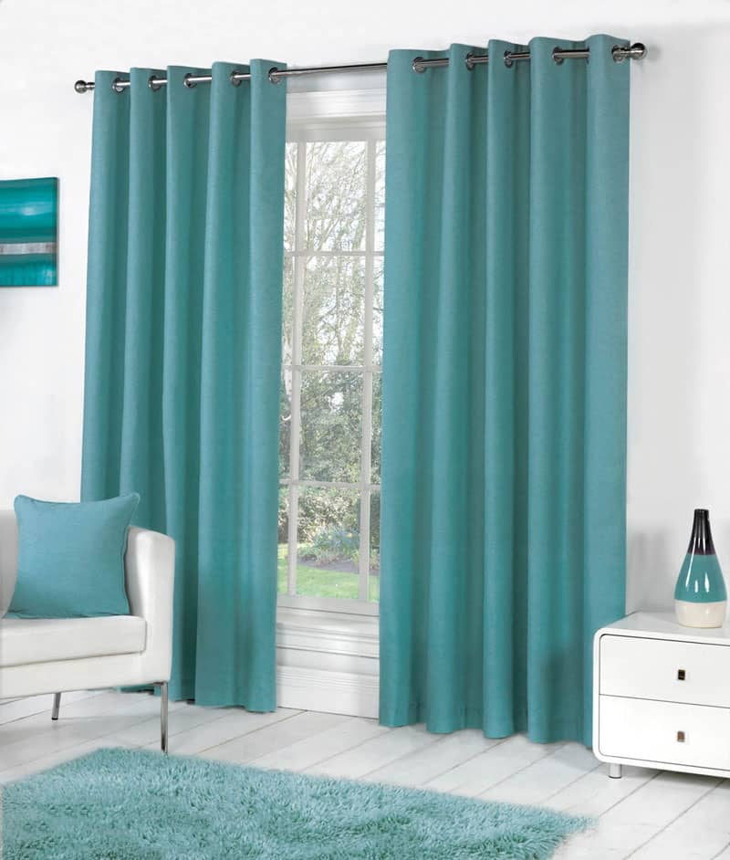Sorbonne Teal Ready Made Curtains