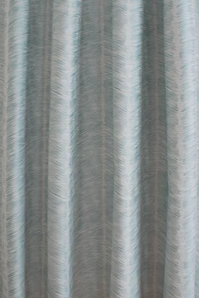 Rizzi Duck Egg Curtain Fabric