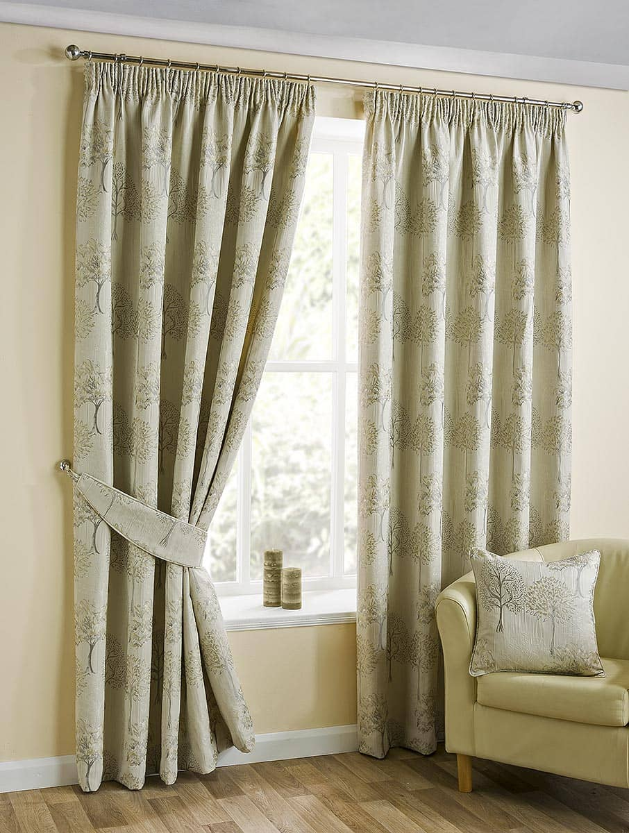 Arden Natural Ready Made Curtains