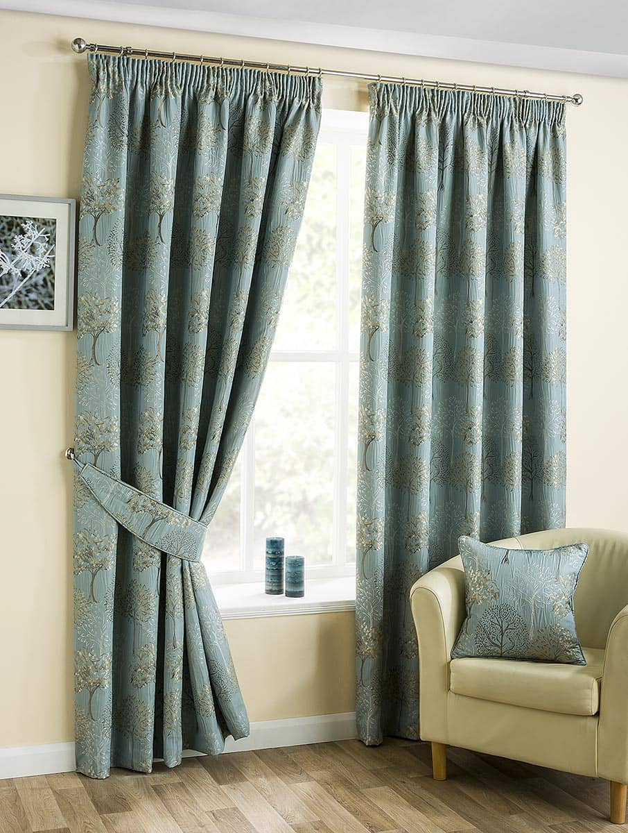 arden duck egg ready made curtains. Black Bedroom Furniture Sets. Home Design Ideas