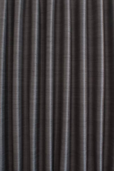Shantung Charcoal Roman Blinds