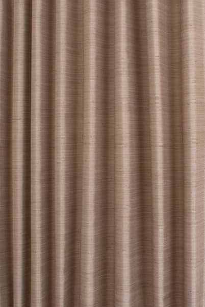 Shantung Taupe Curtain Fabric