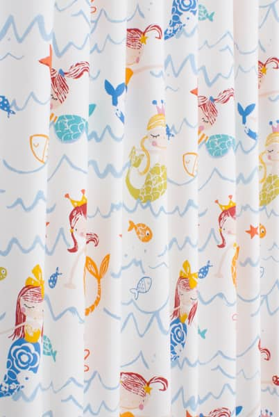 Mermaid Azure Made to Measure Curtains