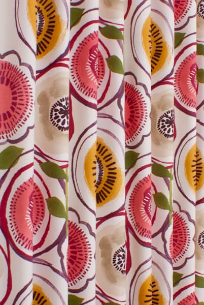 Indah Berry Curtain Fabric