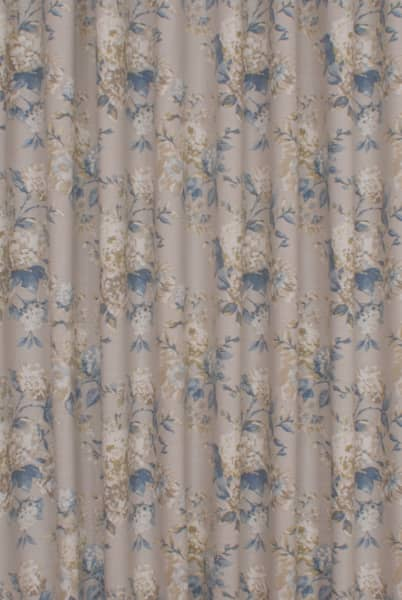 Bowland Porcelain Curtain Fabric