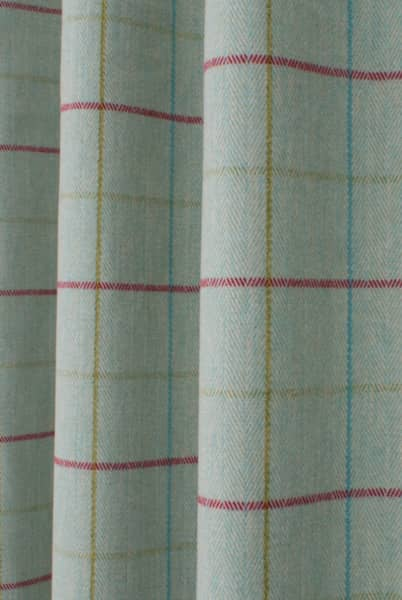Brodie Duck Egg Curtain Fabric