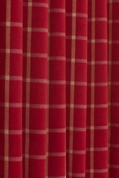 Halkirk Cardinal Curtain Fabric