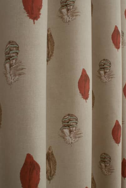 Feather Linen Made to Measure Curtains