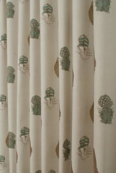 Feather Cream Curtain Accessories