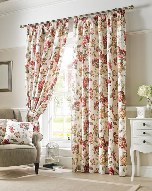 Carnaby Chintz Ready Made Curtains