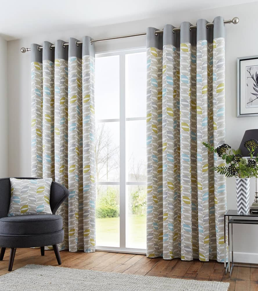 Copeland Duck Egg Ready Made Curtains